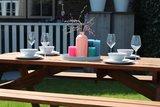 Picknicktafel Barcelona 200 x 160 x 75 cm hardhout (4-6 personen)_