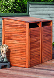 Containerberging dubbel hardhout_