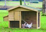 Kippenverblijf Barnevelder_