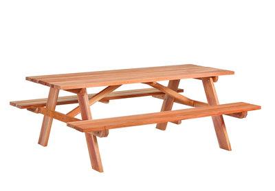 Hardhouten picknicktafel Business Tuindeco