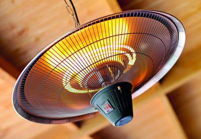 Heater plafondmodel rond